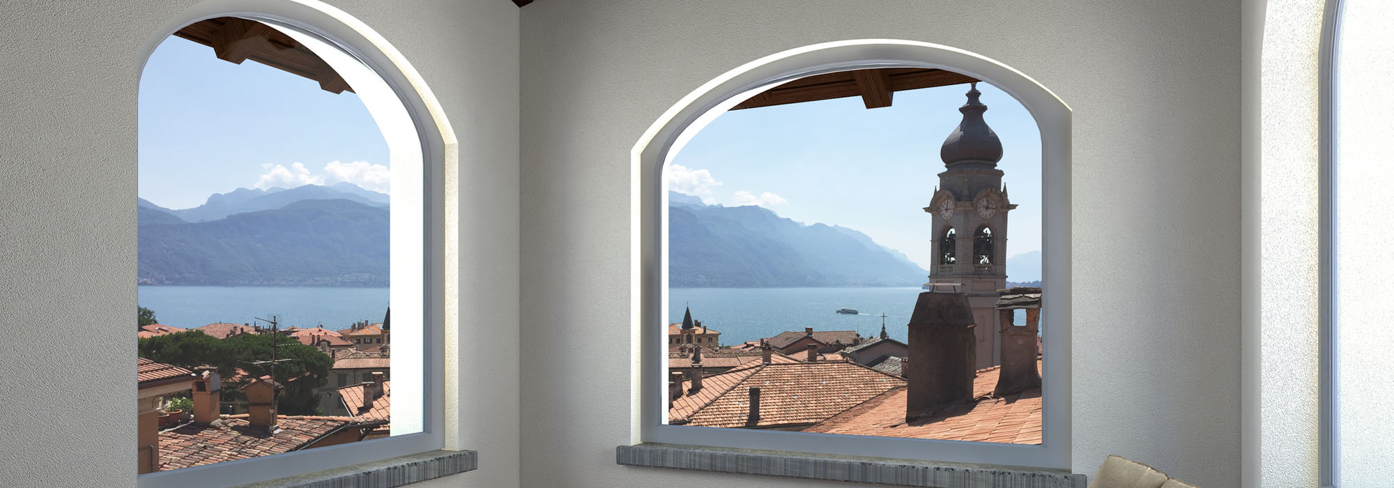 New stylish apartments in restored period villa in Menaggio
