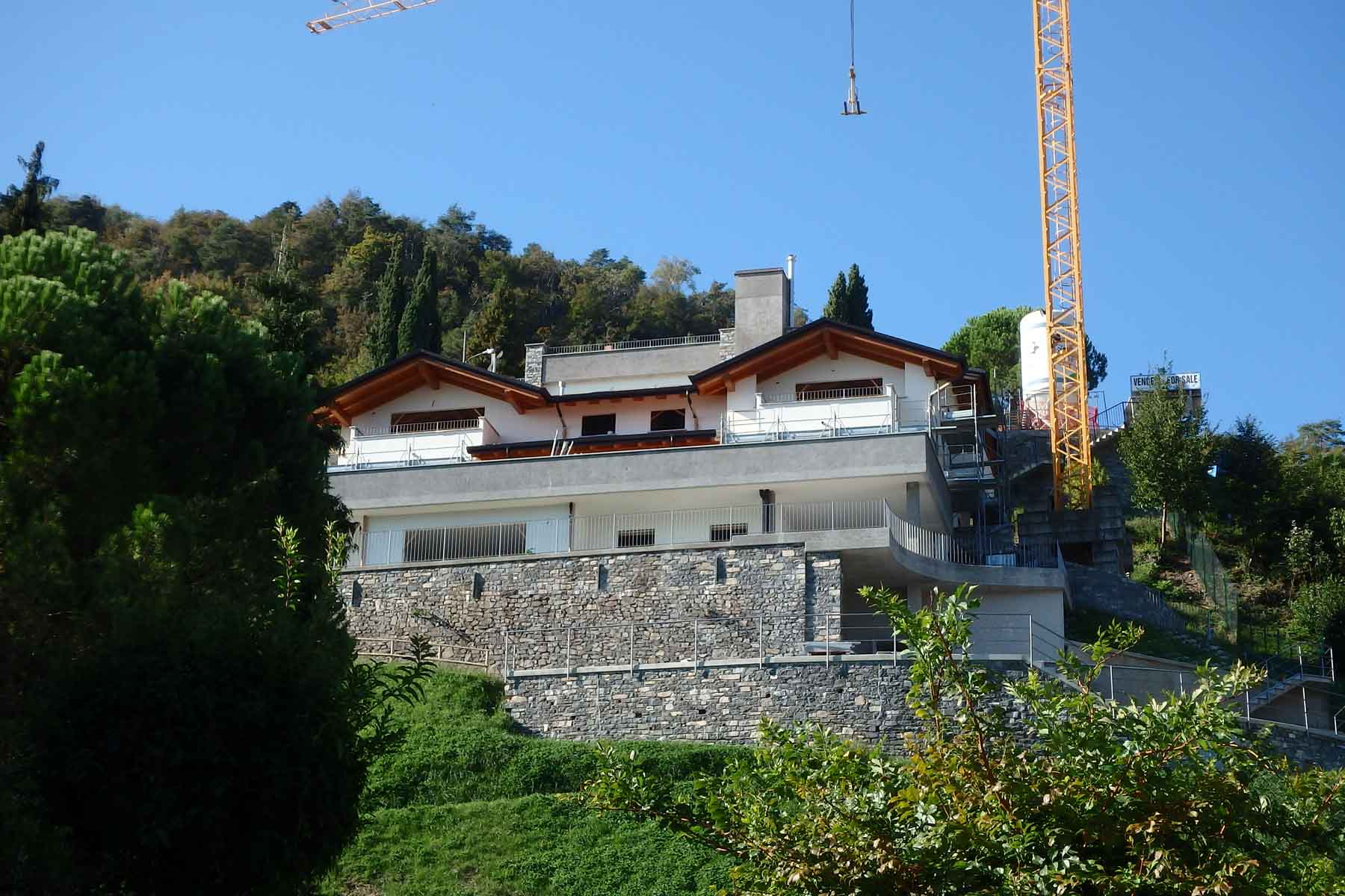 New residence in Menaggio with lake view and pool