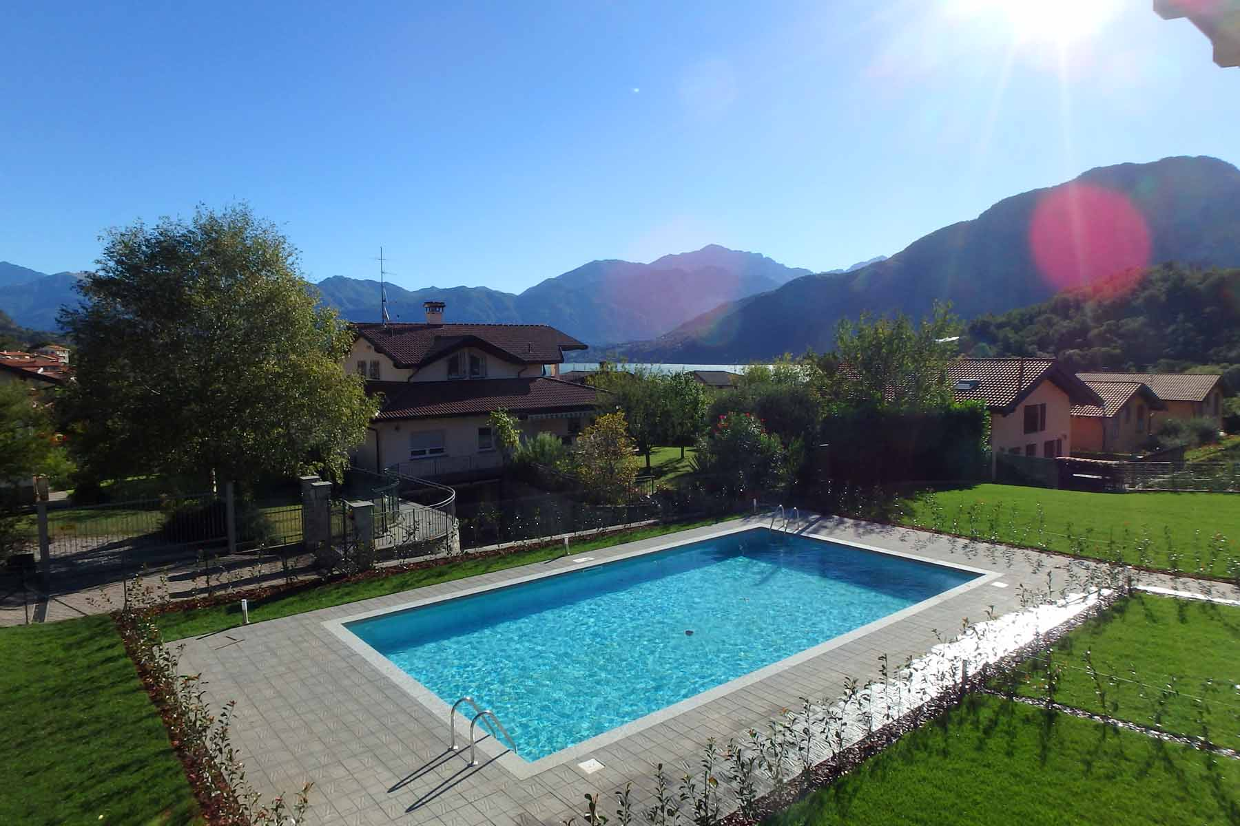 New Residence With Swimming Pool In Lenno