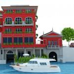 direttamente waterfront direkt