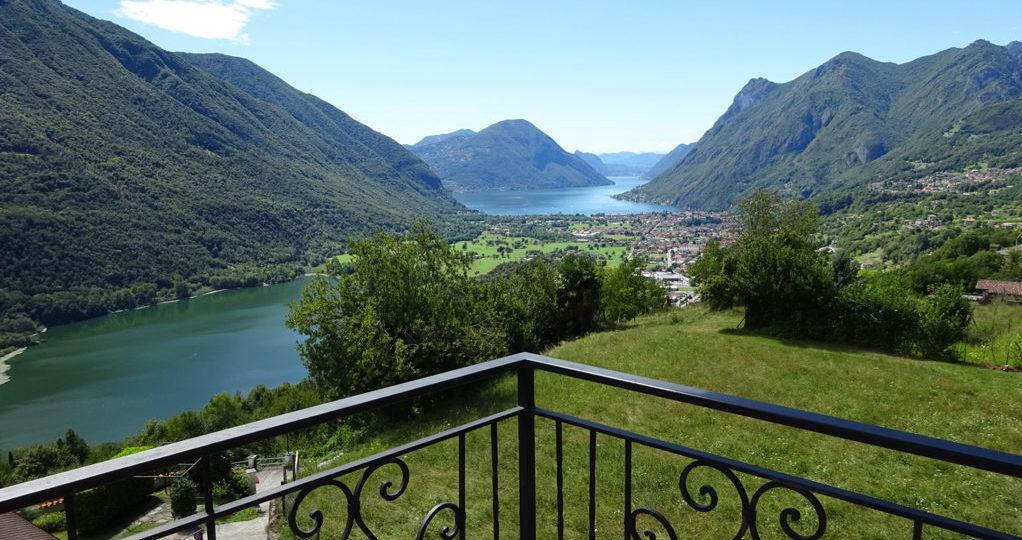 Lago di Lugano: casa con vista