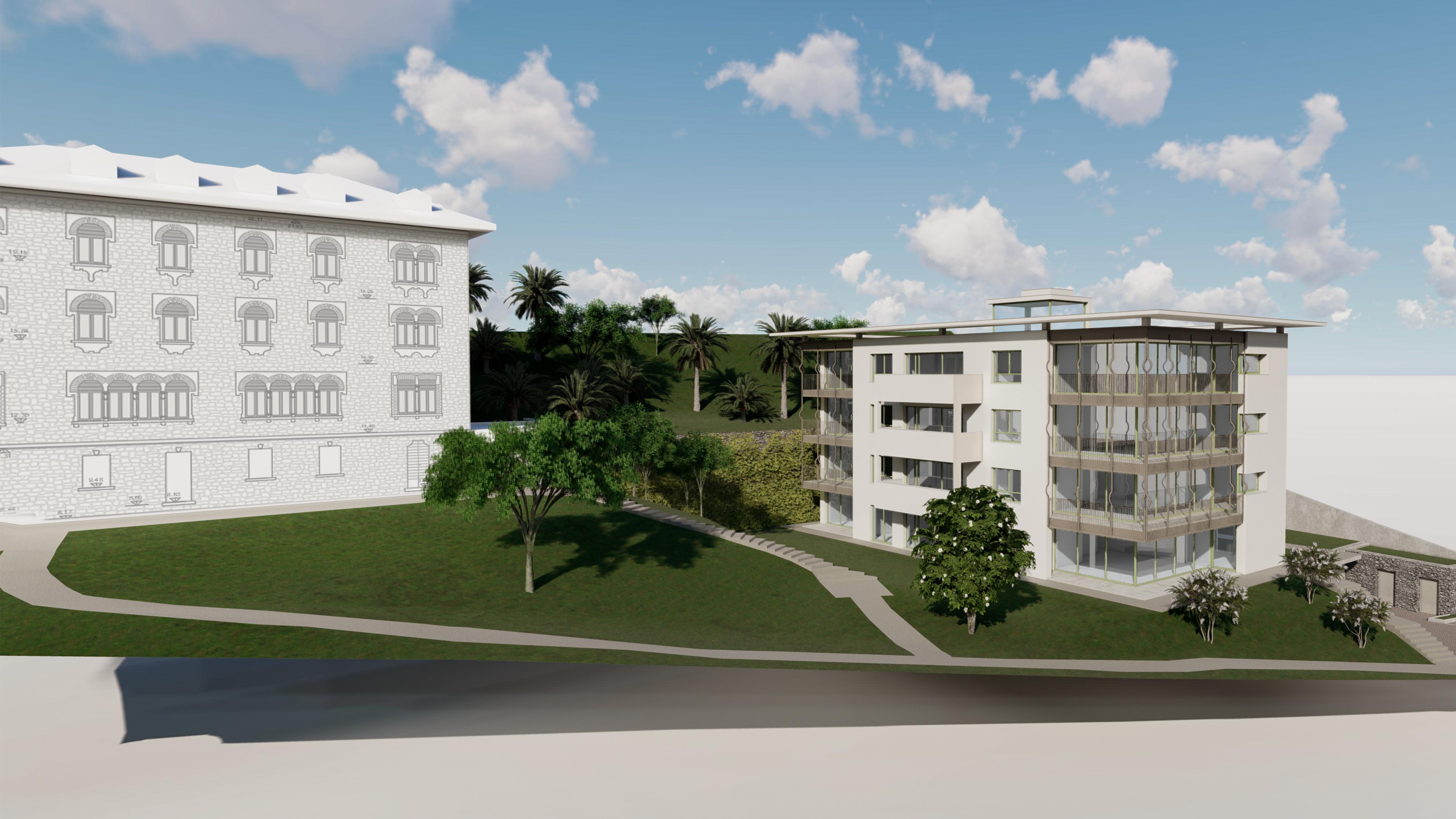 New modern apartments in Menaggio