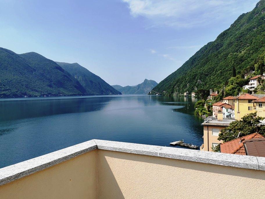 Lago di Lugano, Valsolda direttamente a lago