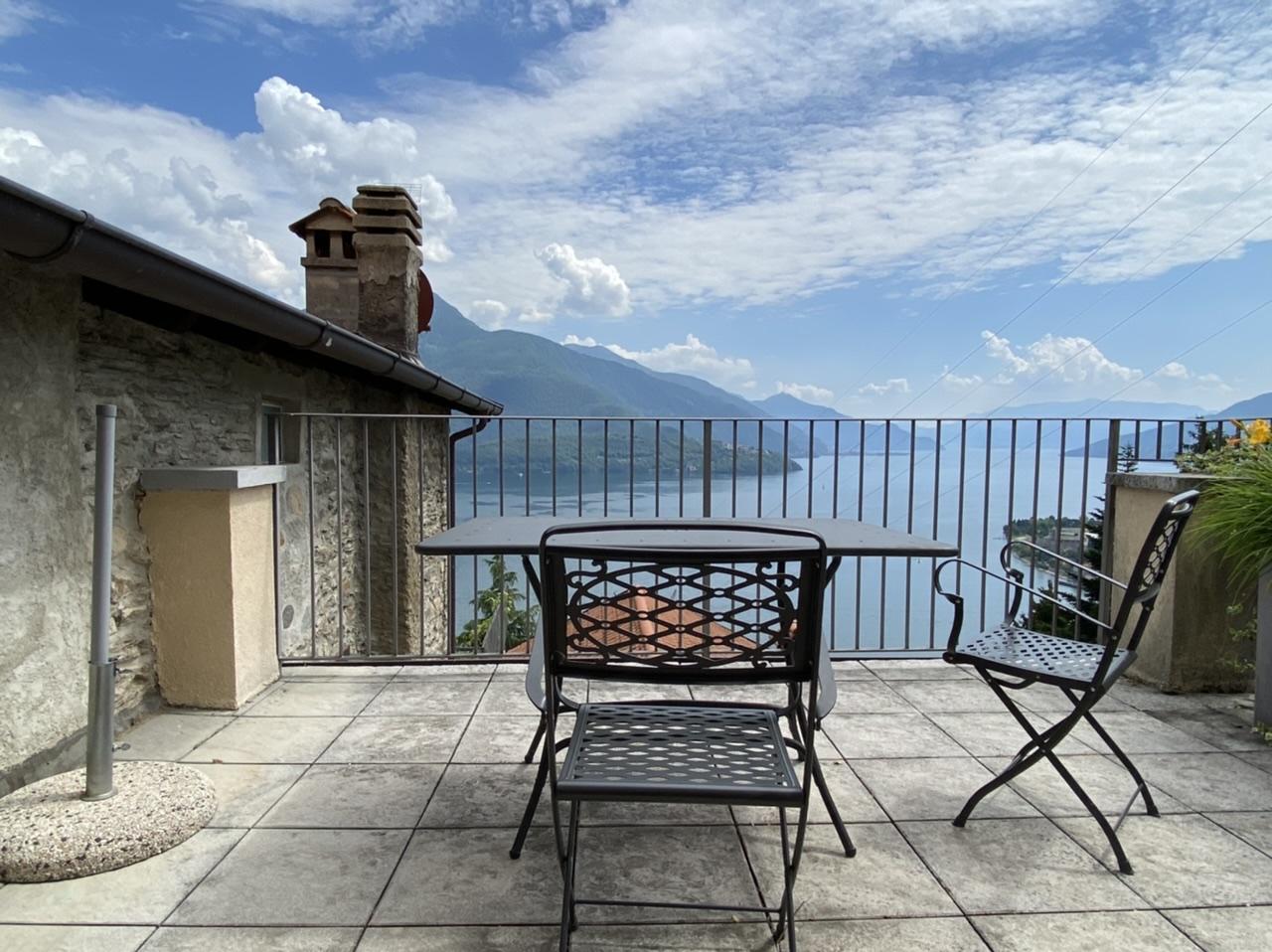 Gravedona, appartamento con bellissima vista lago
